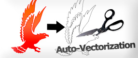 WinPCSIGN auto-vectorization, Convert an image in vectors