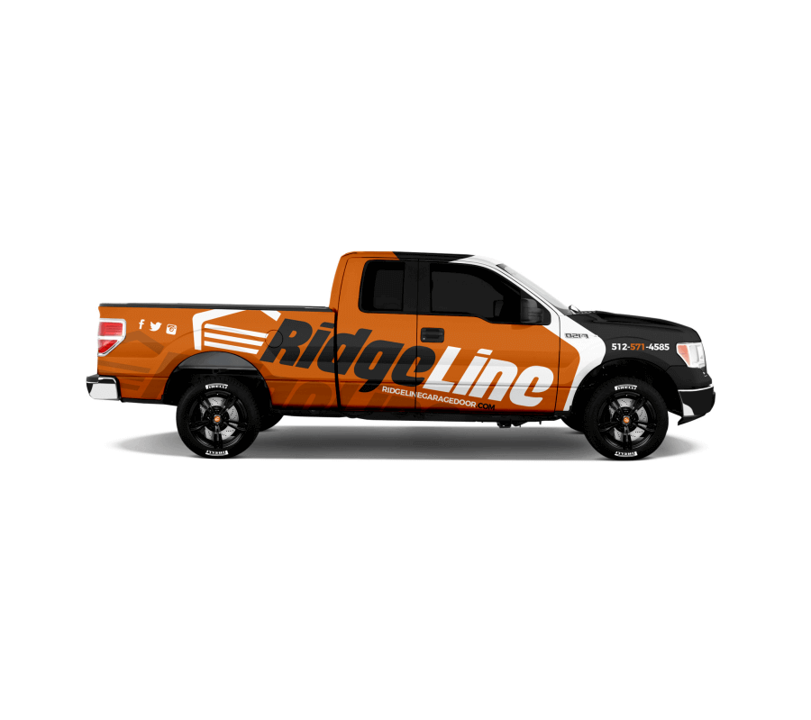 Project - Truck Wrapping