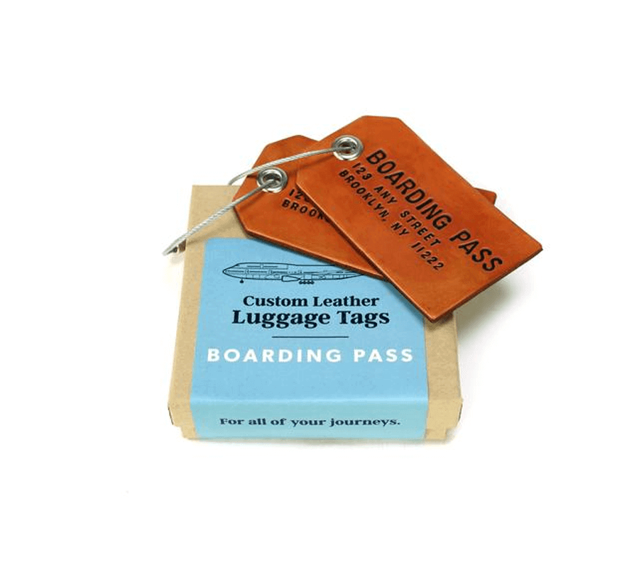 Project - Leather tags