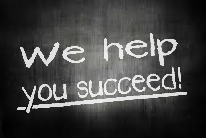 We help you succeed!