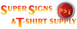 SUPER SIGNS & T-SHIRT SUPPLY